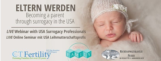 "LIVE Webinar – ""Becoming a Parent Through Surrogacy in the USA"""