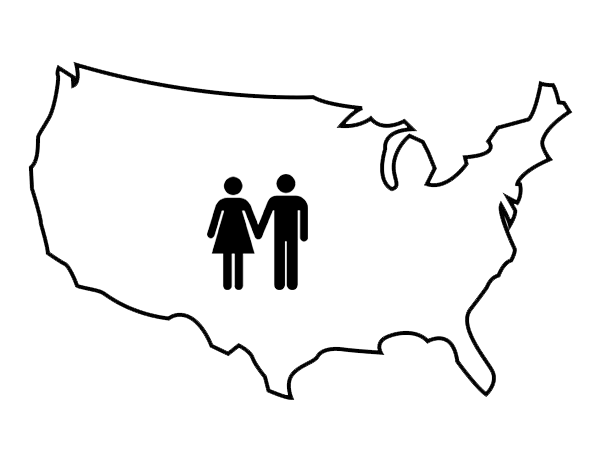 U.S. Surrogacy Map | Creative Family Connections